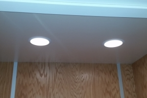 Ceiling and lights